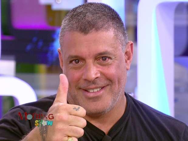 Alexandre Frota participou do 'Morning Show' Foto: Divulgação