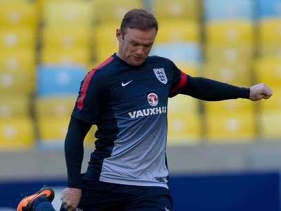 Rooney deve perder a estreia do Manchester na temporada Foto: Mauro Pimentel / Terra