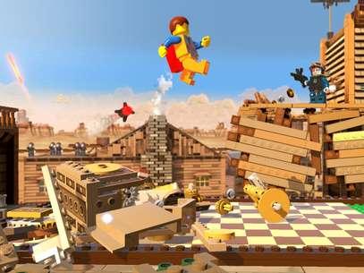 'Lego Movie Videogame' será lançado em 2014, junto com a produção cinematográfica Foto: Divulgação