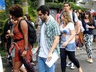 O Enade 2012 teve quase 600 mil inscritos. A prova é obrigatória para receber o diploma universitário Foto: Terra