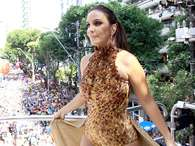 Ivete vai receber o amigo no Bloco CorujaFoto: AgNews