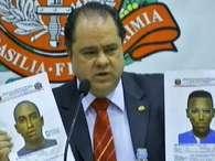 A polícia prendeu três suspeitos e apreendeu um adolescente no caso de São Bernardo do Campo Foto: Reprodução