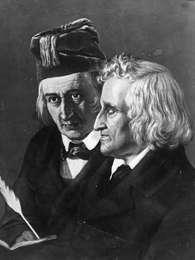 Irmãos Grimm dedicaram a vida ao registro das memórias e lendas populares da Alemanha Foto: Getty Images