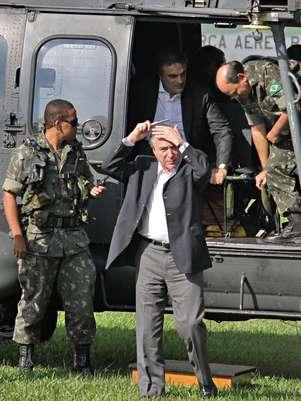 Vice presidente e representantes das Forças Armadas anunciamresultados da Operação Ágata na região de Foz do Iguaçu Foto: Christian Rizzi / Gazeta do Povo / Futura Press