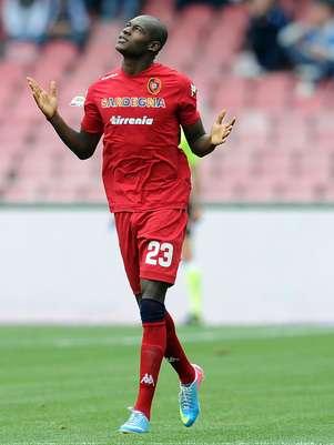 Ibarbo atualmente defende o Cagliari, da Itália Foto: Getty Images