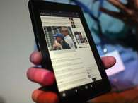 Kindle Fire, da Amazon Foto: Getty Images