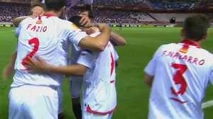 Veja os gols de Sevilla 4 x 1 Porto pela Liga Europa