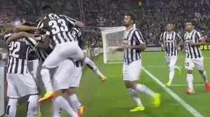 Veja os gols de Juventus 2 x 1 Lyon pela Liga Europa