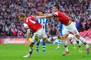 Arsenal avançou após cobranças de penalidades Foto: Getty Images