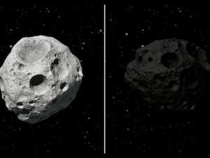 Simulação do 2012 AD14 Foto: NASA / Reprodução