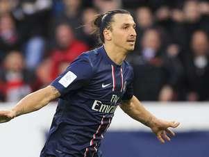Ibrahimovic reencontrará o Barcelona apenas no jogo do Camp Nou; o sueco está suspenso para a partida em Paris Foto: Reuters