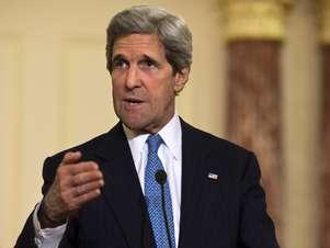 John Kerry disse que o governo americano defenderá e protegerá os aliados sul-coreano Foto: AP