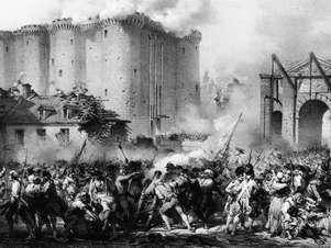 Queda da Bastilha, em 14 de julho de 1789 Foto: Getty Images