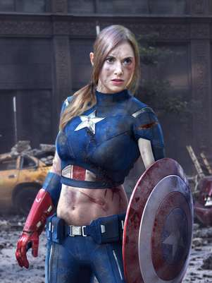 Alison Brie est cotada para viver par romntico de Steve Rogers no prximo 'Capito Amrica' Foto: Reproduo