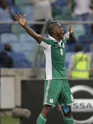 Nigéria venceu Mali com facilidade, fazendo três gols no primeiro tempo Foto: AP