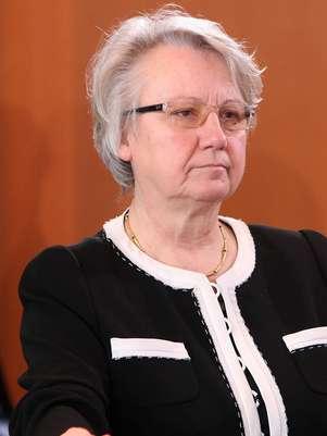 Annette Schavan é acusada de plagiar sua tese de doutorado Foto: AFP