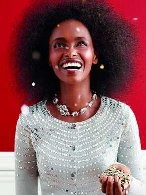 Após mais de uma década, Kiara retomou a carreira no mundo da moda Foto: Divulgação