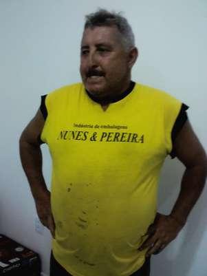 Herói botafoguense trabalha como auxiliar de carpinteiro em Santa Bárbara D'Oeste Foto: Arquivo Pessoal / Divulgação