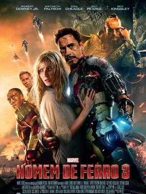 'Homem de Ferro 3'estreia em abril Foto: Divulgação