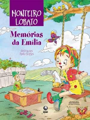 A boneca Emília é um dos principais personagens das histórias infantis de Monteiro Lobato Foto: Globo Livros / Divulgação