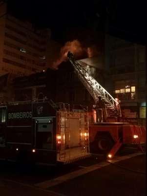 Incêndio atingiu casa noturna da capital Foto: Nathalia Grün / Facebook / Reprodução