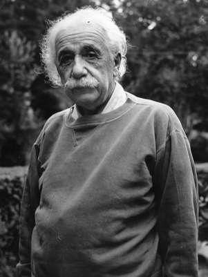 Nobel de Física, Albert Einstein tinha um QI estimado de 160. A média para a população (estimativa do Reino Unido) é de 100 pontos Foto: Getty Images