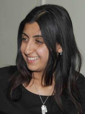 Yara Abbas é vista em imagem de arquivo Foto: AFP