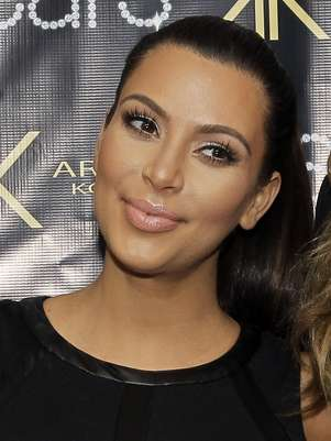 Kim deu à luz no dia 15 de junho Foto: Getty Images