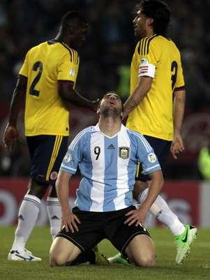 Higuaín está perto de reforçar o Arsenal Foto: EFE