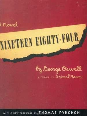 Capa do livro 1984 disponível na Amazon Foto: Reprodução