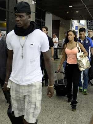 Casal embarcou de Fortaleza (foto); em Milão, saiu de carro sem falar com a imprensa Foto: AFP