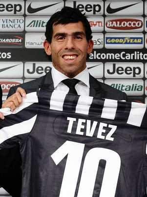 Argentino diz que respeitará o número 10 que foi de Del Piero Foto: AP