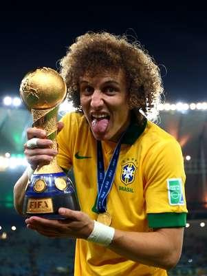 David Luiz foi titular da Seleção no título da Copa das Confederações Foto: Getty Images