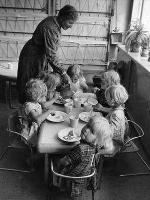 Na década de 1940, o acesso aos alimentos diminui bastante por causa da II Guerra Mundial Foto: Getty Images