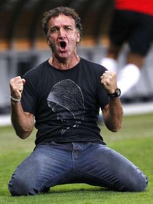 Cuca quebrou a pecha de vice ao dar ao Atlético-MG sua primeira Libertadores Foto: AP