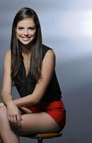 A atriz de 21 anos interpreta uma das principais personagens da novela, a bloggeira Ju Foto: Jorge Rodrigues Jorge/Carta Z Notícias / TV Press