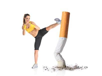 Estudo concluiu que pessoas que praticam exercícios tendem a ter menos vontade de fumar Foto: Getty Images