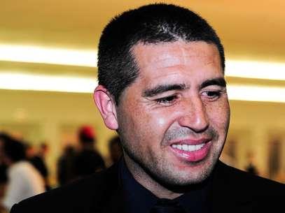 Riquelme foi especulado noPalmeiras, Fluminense, Tigre e Villarreal Foto: Marcelo Ferrelli / Gazeta Press