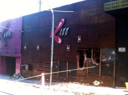 Incêndio na madrugada de 27 de janeiro na boateKiss matou 241 pessoas Foto: Daniel Favero / Terra
