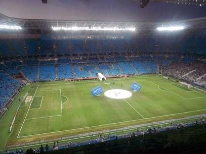 Arena do Grêmio não será usada na próxima partida da Libertadores Foto: Luís Felipe dos Santos / Terra