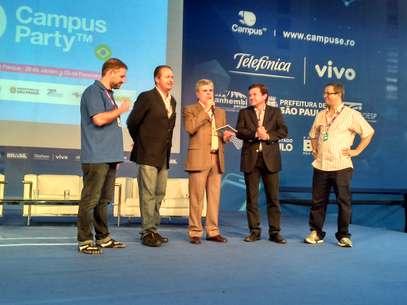 Anúncio da nova edição da Campus no Recife foi feito neste sábado no Anhembi Foto: Ismael Cardoso / Terra