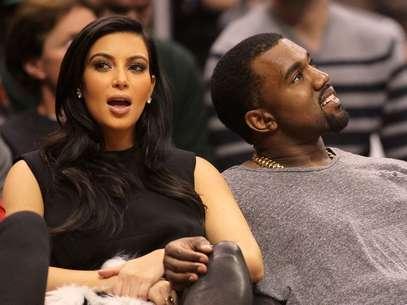 Kim Kardashian espera o primeiro filho com Kanye West Foto: Getty Images