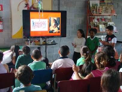 OProjeto Âncora, de Cotia (SP), foge do tradicional: nada de salas de aulas, lousas, provas Foto: Divulgação