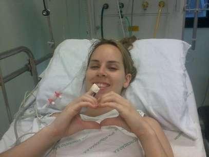 Ingrid estava internada no Hospital Conceição, em Porto Alegre Foto: Facebook / Reprodução