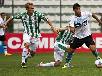 Willian José passou novamente em branco e Juventude fez três pontos Foto: Guilherme Testa / Futura Press