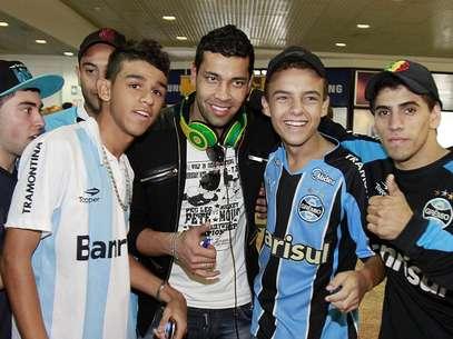 André Santos está empolgado com a Libertadores Foto: Itamar Aguiar / Futura Press