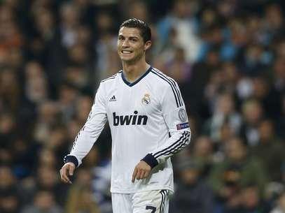Cristiano Ronaldo marcou contra a equipe que lhe pôs no mapa do futebol internacional Foto: Reuters