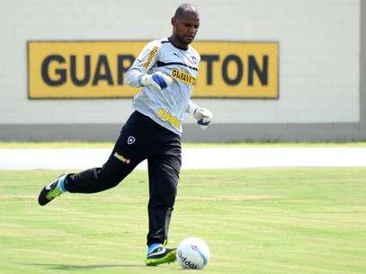 De acordo com Jefferson, jogadores do Botafogo completarão nesta quarta dois meses sem receber Foto: Mauro Pimentel / Terra