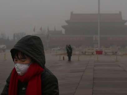 Chineses enfrentam degradação do ambiente por resíduos industriais, substâncias tóxicas na água e ar carregado de partículas finas Foto: Getty Images