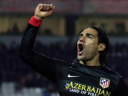 Falcao García fez um dos gols do empate por 2 a 2 fora de casa Foto: Reuters